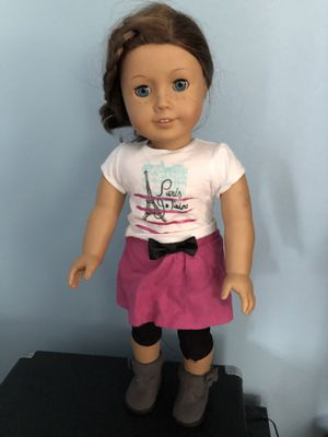 American Girl Doll & sweater for Sale in North Andover, MA