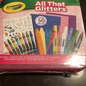 Crayola All That Glitters Art Kit for Sale in Newcastle, WA