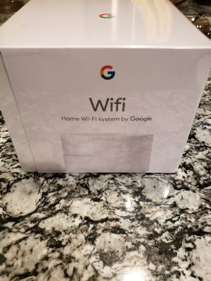 Google wifi router. Sealed for Sale in Arlington, TX