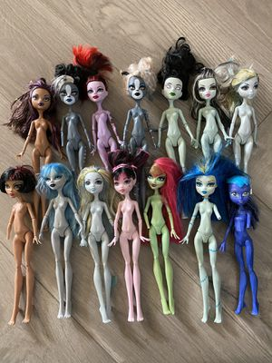 Monster high doll lot of 14 for Sale in Sacramento, CA