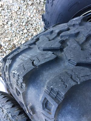 "Super Swamper Irok tires 36"" and 15x10 wheels for Sale in Clayton, NC"