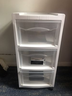 Plastic storage drawer for Sale in Herndon, VA