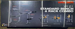 Weider XR 6.1 Multi-Position Weight Bench with Leg Developer and Exercise Chart for Sale in Chino, CA
