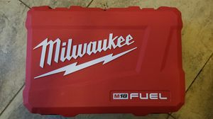 New Milwaukee M18 FUEL Hard Carrying Case for Sale in Hemet, CA