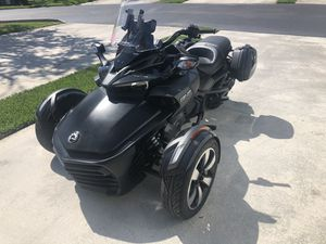 Can Am 2018 F3-S Spider excelent conditions only 398 miles. for Sale in Miami, FL