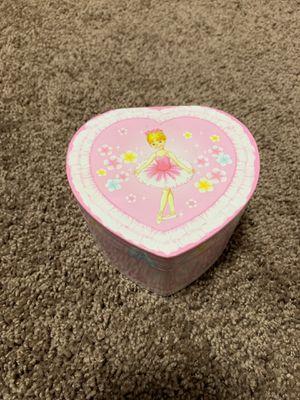 Pink Ballerina Heart shaped Music box for Sale in Hesperia, CA