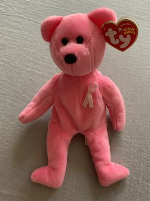 Aware Cancer Beanie Baby Bear for Sale in Yorba Linda, CA