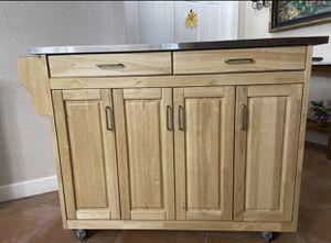 Stainless Steel Kitchen Cart for Sale in Alpharetta, GA