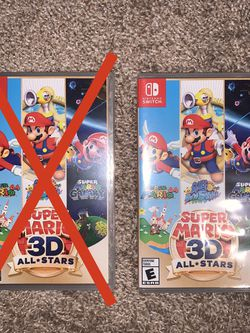 Super Mario 3D All Stars For Nintendo Switch for Sale in University Place,  WA