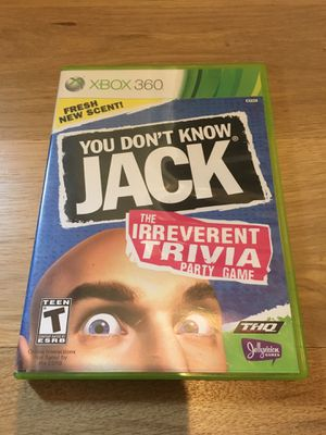 You Don't Know Jack for Xbox 360 for Sale in Apex, NC