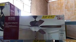 Home decorators 60-inch trafton indoor ceiling fan for Sale in Phoenix, AZ