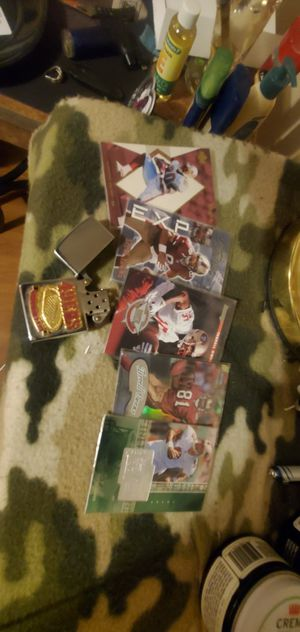 49ers cards an zippo for Sale in Aurora, CO