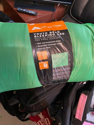 Green Youth Bear Sleeping Bag for Sale in Hampton, VA