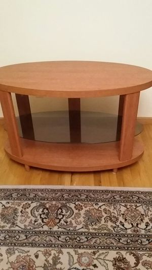 ALL WOOD MODERN CLEAN LOOKIING STURDY STAND /TABLE NEW ORG$.90 NOW $40 OBO ASAP for Sale in Queens, NY