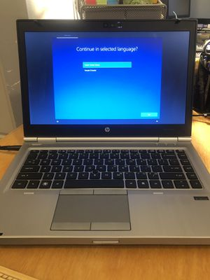 Hp elitebook laptop with charger for Sale in Hubbard, OR