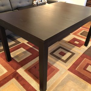 IKEA table, Dark Brown for Sale in Sandy Springs, GA