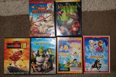 Children's animated dvd's for Sale in Chino,  CA