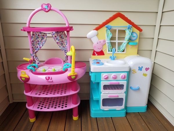 Peppa Pig Kitchen Baby Alive Set For Sale In Puyallup