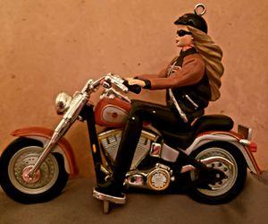 Hallmark Harley Davidson Barbie ornament for Sale in Glendale Heights, IL