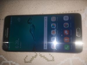 Samsung Galaxy S6 Edge Plus T-Mobile/MetroPCS Phone New Without Box Clear ESN Gold Ready To Activate for Sale in Glendale, AZ