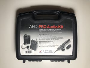 Azden WHD-PRO Audio Kit for Sale in Rancho Santa Fe, CA