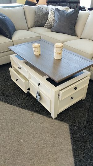 Lift Top Coffee Table with Drawers for Sale in Virginia Beach, VA