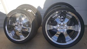 """24"""" wheels and tires for Sale in Wenatchee, WA"""