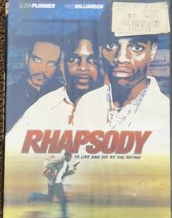 """Rhapsody """"To Live And Die By The Rhyme"""" Movie DVD 2002 for Sale in Chapel Hill,  NC"""
