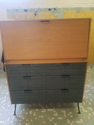 Raymond Loewy droptop desk or cabinet for Sale in Alexandria, VA