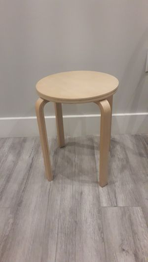 Wooden stool IKEA for Sale in New York, NY