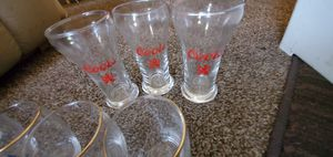 3 8oz. Coors beer glasses for Sale in Kansas City, MO