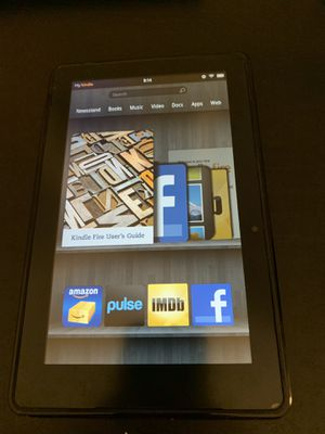 Amazon Kindle Fire 1st gen 8 GB. Tablet reader for Sale in Rosemead, CA