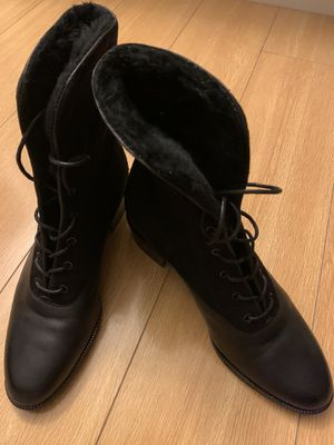 Nine West leather & suede black boots new size 6 for Sale in Los Angeles, CA