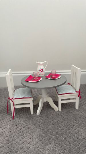 American girl doll dining set for Sale in Brentwood, TN