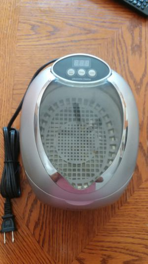 Brookstone ultrasonic cleaner for Sale in Crete, IL