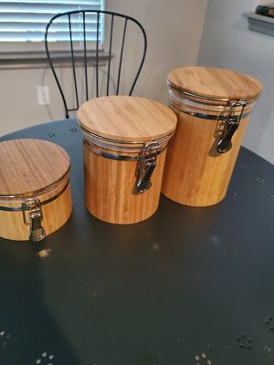 Bamboo Storsge Containers for Sale in Round Rock, TX