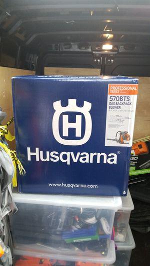 Husqvarna leaf blower model number 570bts for Sale in Germantown, MD