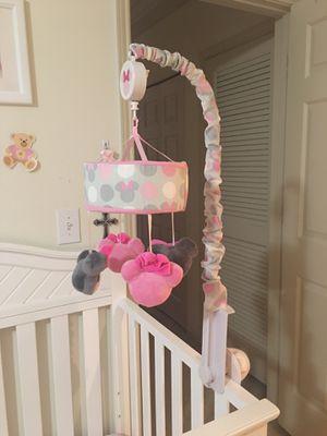 Baby crib musical mobile for Sale in Alpharetta, GA