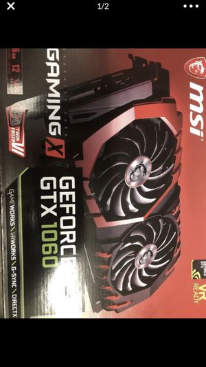 1060 GeForce GTX brand new sealed box if you know what this is please don't lowball me giving it for a Good price for Sale in Los Angeles, CA