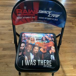 Wwe Chair Smackdown/Raw Madison Square Garden for Sale in Farmingdale, NY