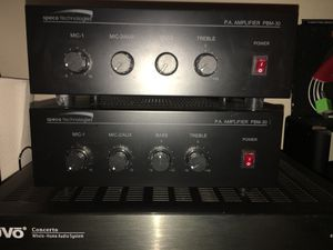 Speco Tech PBM-30 - Home/Pro Audio Mixer Amplifier (individual unit) for Sale in The Woodlands, TX