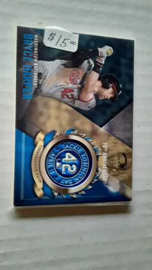 Bryce Harper Card lot, w ,2020 Phil's Schedule. for Sale in Philadelphia, PA