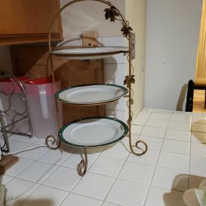 3 plates tower. Free when you buy any of my listing for Sale in San Marino, CA