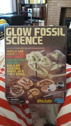 Brand new, used for sale  box glow fossil science kit for Sale