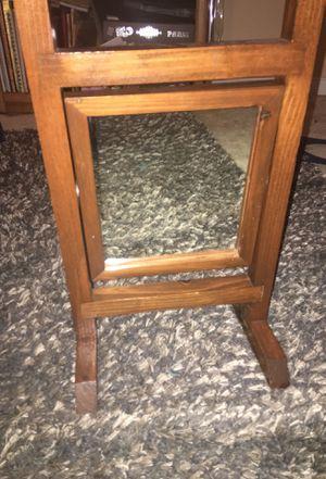 Antique wood mirror for Sale in Midlothian, VA