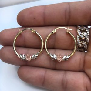14k gold hoop earrings for Sale in South Gate, CA