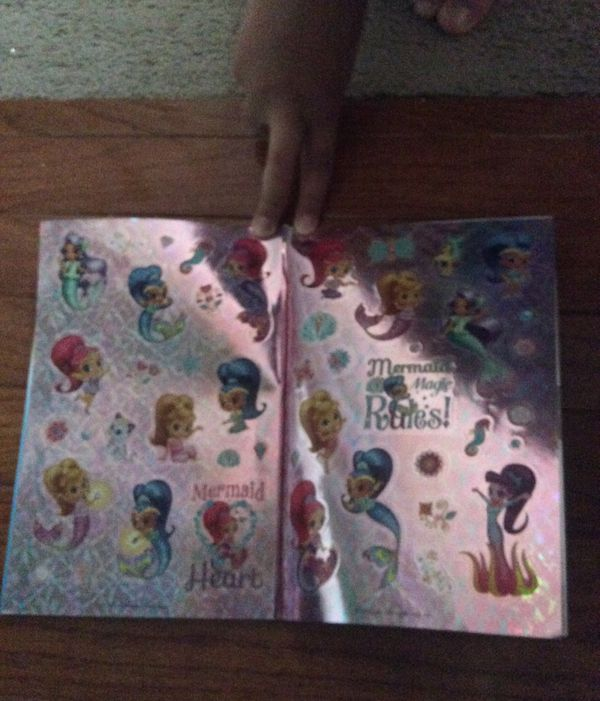 Shimmer and shine book. Level 1. All stickers are included (not used)