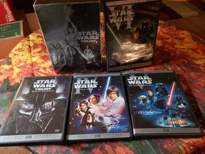 4 peice Star Wars set DVD for Sale in Federal Way, WA