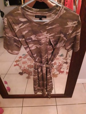 Cute Camo T-Shirt Dress for Sale in Casselberry, FL