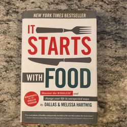 It Start With Food - Book for Sale in Montgomery,  NJ